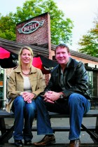 "Owners of Diesel Pizza and Pub Tara and Jum Cameron were recently awarded the ""Sensitive Rehabilitation/Restoration"" for the restoration of their restaurant."